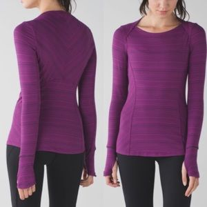 Lululemon Kanto Catch Me Long Sleeve Sz 6